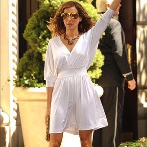 Carrie Bradshaw Halston dress
